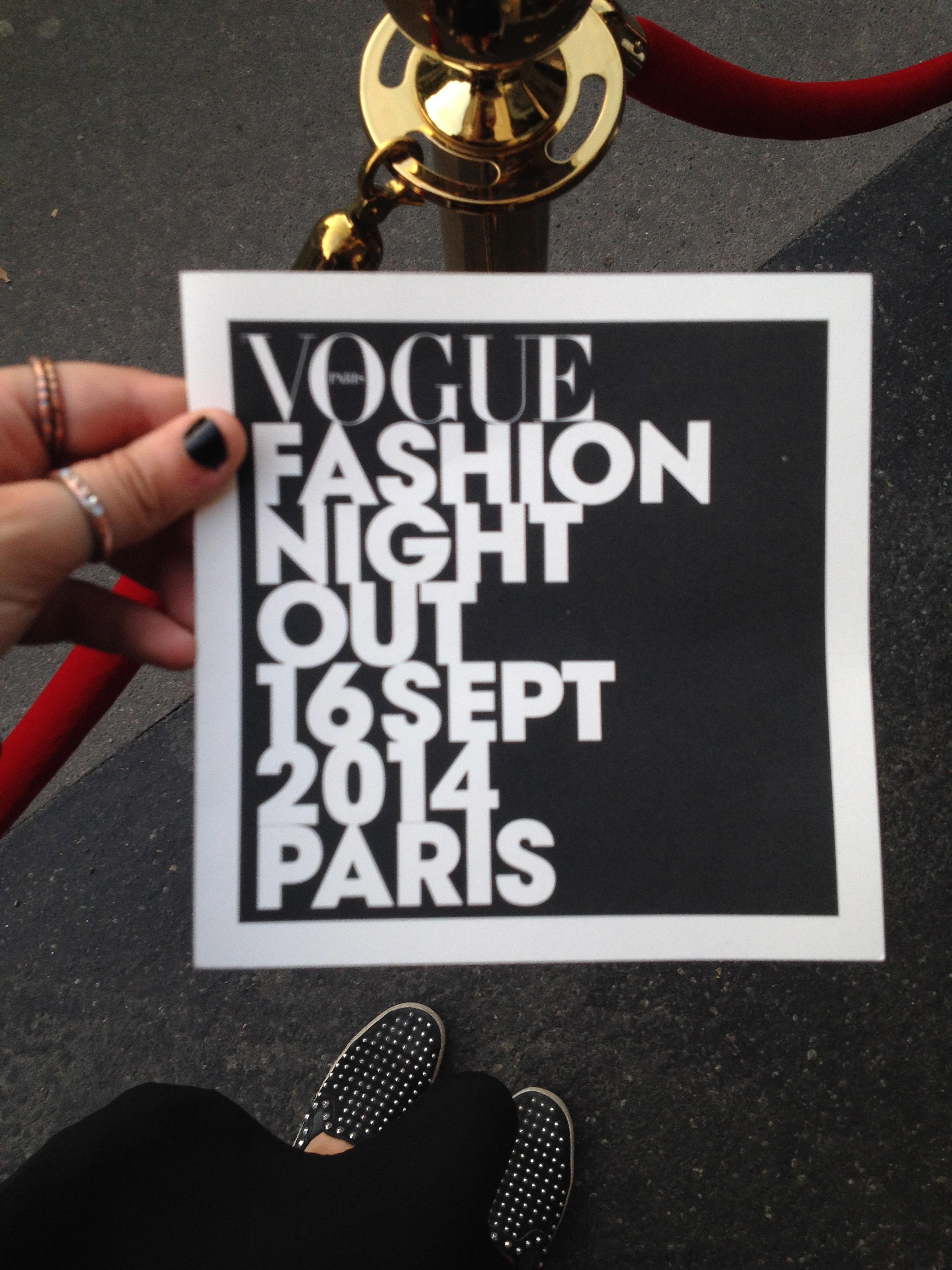 La VOGUE FASHION NIGHT OUT 2014