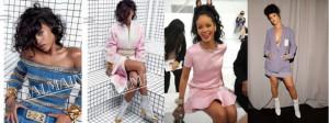 Rihanna Dior égérie  by leafromparis